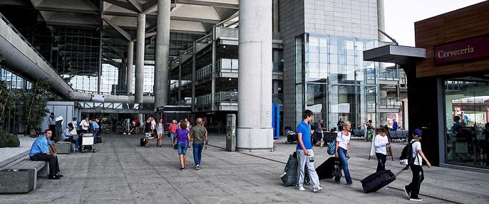 Malaga airport arrivals