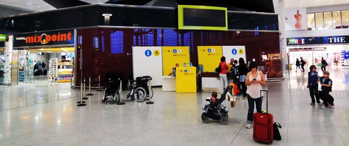 Malaga Airport Disabled Assistance