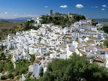 White Village of Casares, Spain