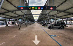 Malaga airport parking