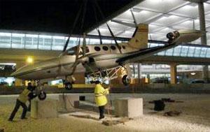 Malaga airport museum