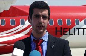 Abel Pizarro, President of Helitt Airlines