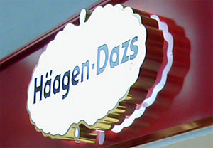New Häagen-Dazs at Malaga airport