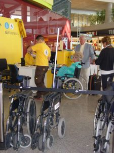 AGP passengers with reduced mobility