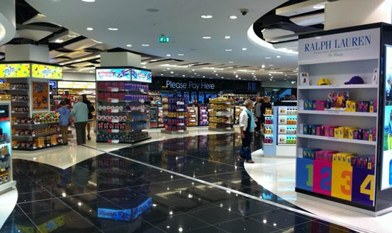 Walk through store at Gatwick Airport