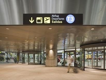T3 Malaga airport-Costa del Sol