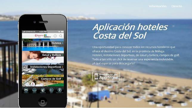 app Hotels Costa del Sol